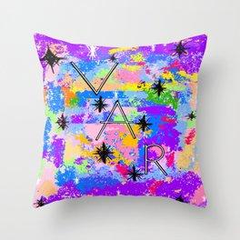 VAR Bright Throw Pillow