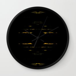 Through The Darkness Wall Clock