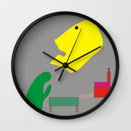 Looking for Redemption Wall Clock