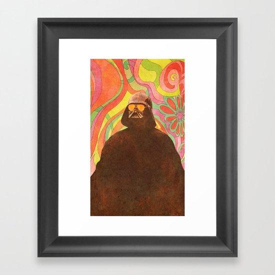 The Groovy Side Framed Art Print