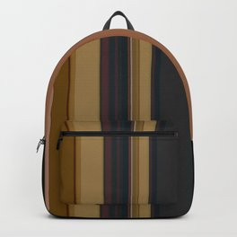 Black , striped , brown Backpack