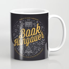 Book hangover Coffee Mug