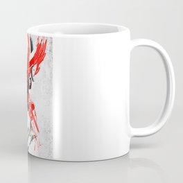 "Nigel ""The Lion"" Mansell - White & Color Series #5 Coffee Mug"