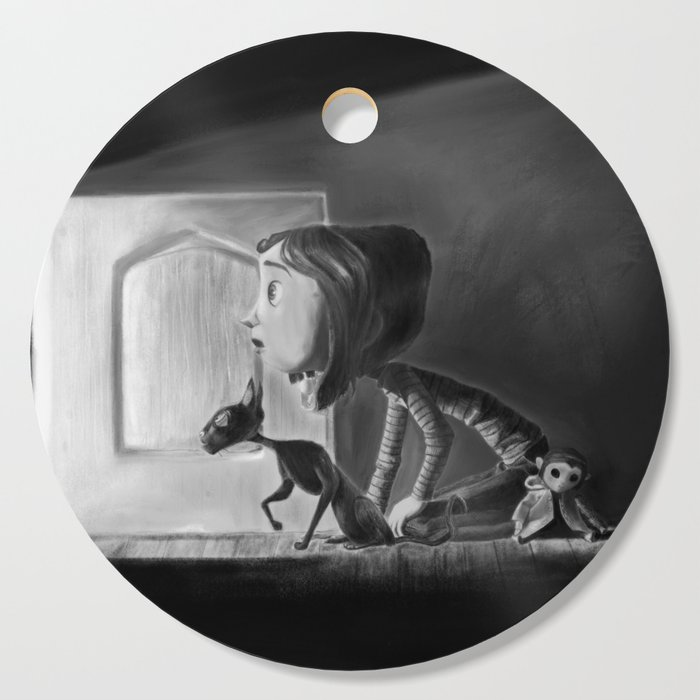 Coraline Cutting Board By Valerierome Society6