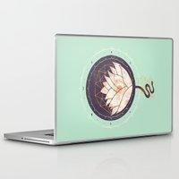 lotus Laptop & iPad Skins featuring Lotus by Hector Mansilla
