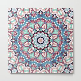 Geometric ornament 19 Metal Print
