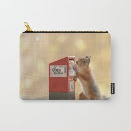 squirrels vote Carry-All Pouch