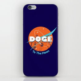 Doge Nasa Variant (To The Moon!) iPhone Skin