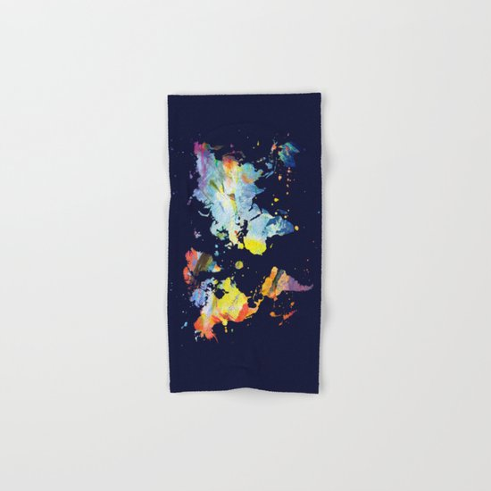 THE COLORFUL WORLD Hand & Bath Towel