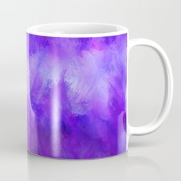 Dappled Blue Violet Abstract Coffee Mug