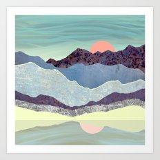 Summer Dawn Art Print