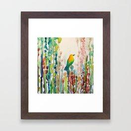 voir le monde autrement Framed Art Print