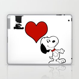 snoopy happy Laptop & iPad Skin