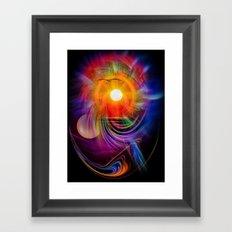Abstract - Perfkektion - Sunset Framed Art Print