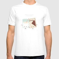 Fall in love - Ingredienti coraggiosi SMALL Mens Fitted Tee White