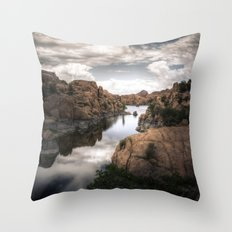 Watson Lake Throw Pillow