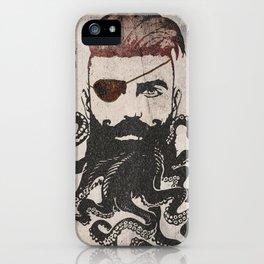 Black Beard iPhone Case