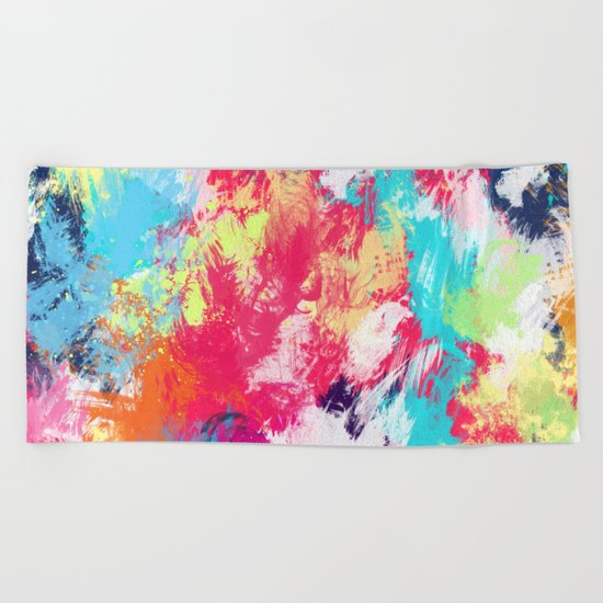 Abstract 39 Beach Towel