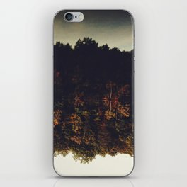 Flipping Autumn iPhone Skin