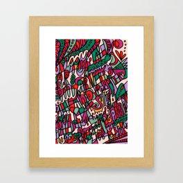 Jammin' Good (Berry) Framed Art Print