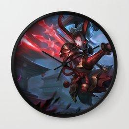 Blood Moon Kalista League Of Legends Wall Clock