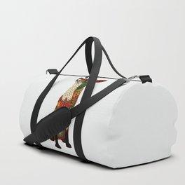 fox love off white Duffle Bag