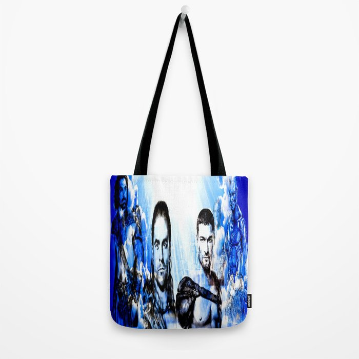 Gladiators Into the Afterlife Tote Bag