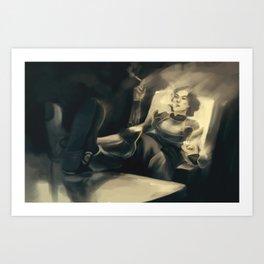 Lin Bei Fong Art Print