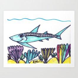 Key West Tarpon Art Print