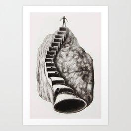 The Musician's Way 4 Art Print