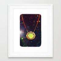 enerjax Framed Art Prints featuring Eye of Agamotto by enerjax