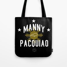 Manny Pacquiao Training Black Tote Bag
