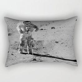 Apollo 17 - Commander Gene Cernan Rectangular Pillow