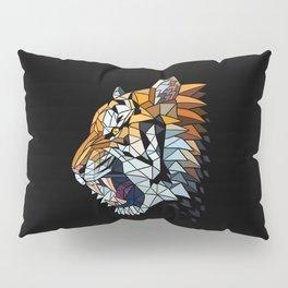 Geometric Tiger Pillow Sham