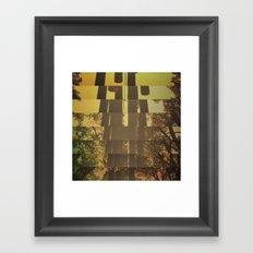 CENTER OF THE FOREST Framed Art Print