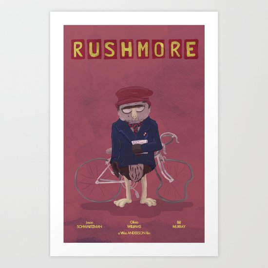 more of a rush Art Print