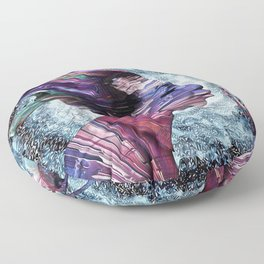 Priestess Of Soul Floor Pillow