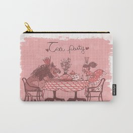 Tea Party! Carry-All Pouch