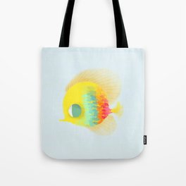 Bajo del mar Tote Bag