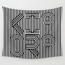 KiaOra New Zealand Greeting (Square) Wall Tapestry