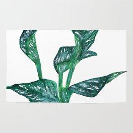 green calla lily Rug
