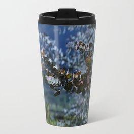 Decorative Eucalyptus Travel Mug