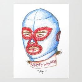 Nacho Art Print