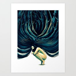 .Holloway. Art Print