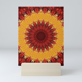 KALEIDOSCOPIC FALL Mini Art Print