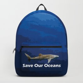 Whale Shark - Save Our Oceans Backpack