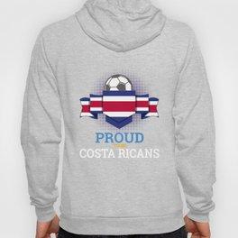 Football Costa Ricans Costa Rica Soccer Team Sports Footballer Goalie Rugby Gift Hoody