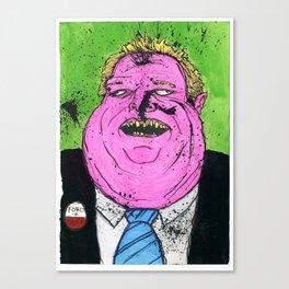 Rofo Had A Crack Day Canvas Print