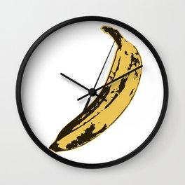Banana Pop Art for Prints, Posters, Tshirts, Wall Art, Men, Women, Youth Wall Clock