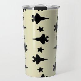 F-35 Lightning II Pattern Travel Mug